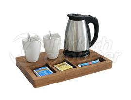 Kettle and Welcome Trays