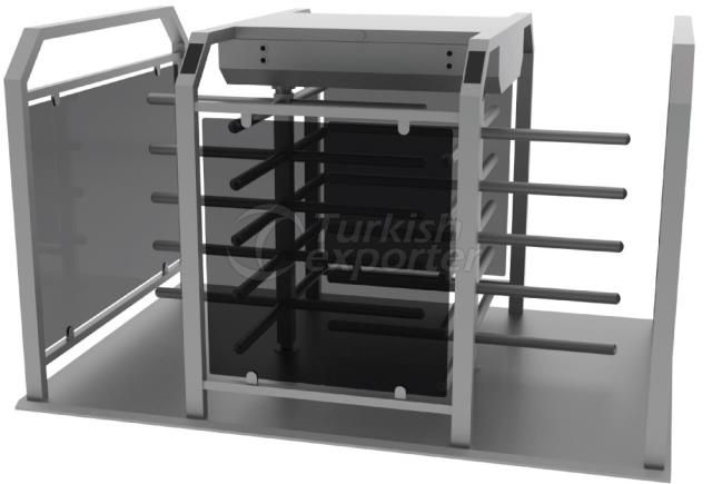 Half Height Turnstile HT400D