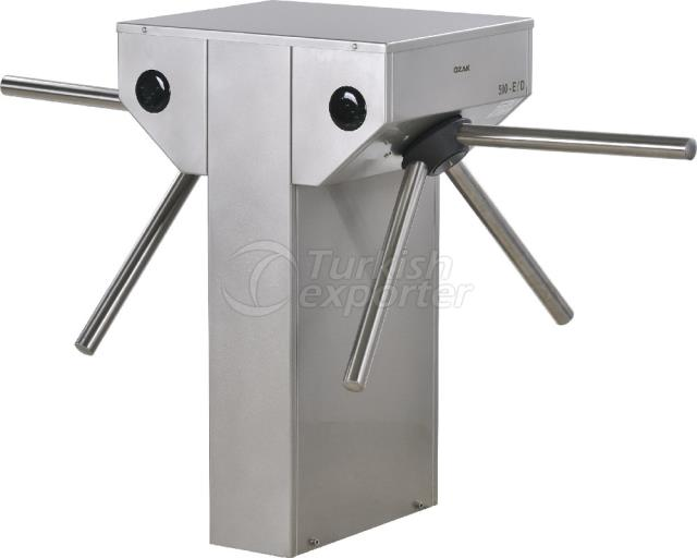 Waist Height Turnstile 500E-D