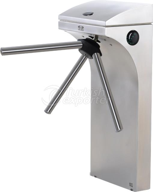 Waist Height Tripod Turnstile 602