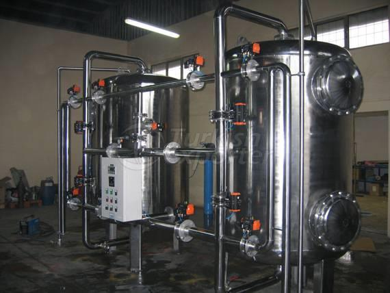 Surface Piped Water Softeners