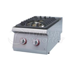Gas cooker W/two burners
