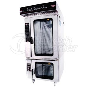 Oven base with tray slide/PFS05