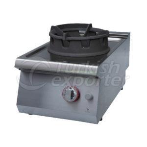 Gas wok cooker w/1 burner, GKW7010