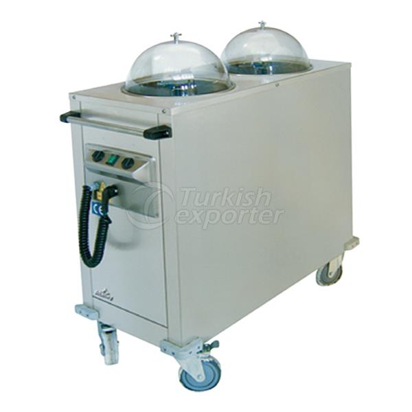 Plate Warming Trolley VTI-100