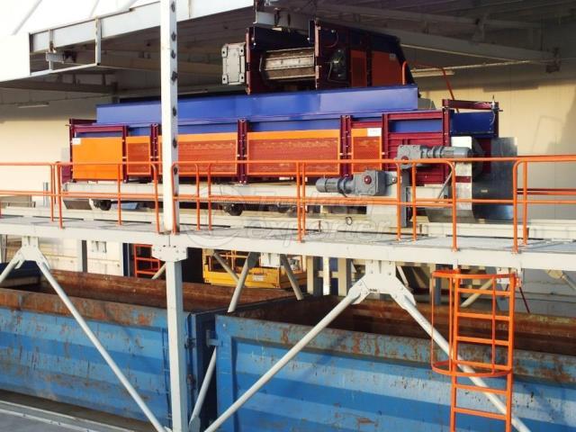 Scrap Metal Conveyor