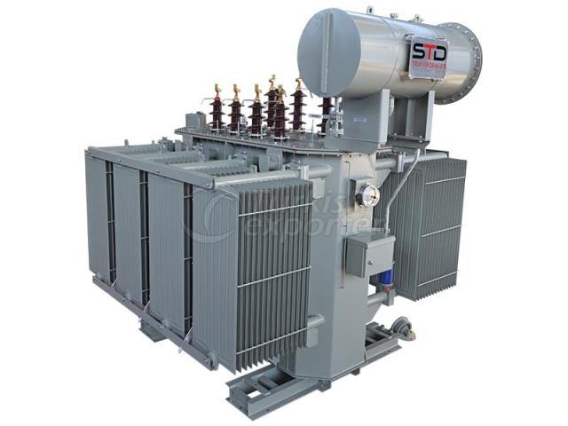 Oil Immersed Medium Power Transformers