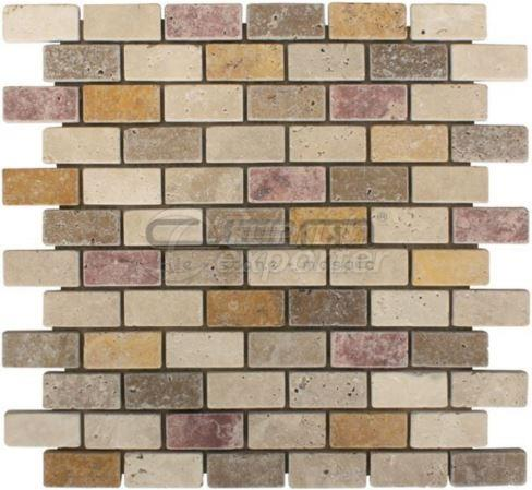 Multicolor Mosaic CEM-T-MOS-13-02