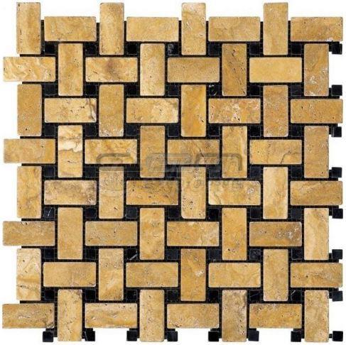 Basketweave Mosaic CEM-T-MOS-05-43-07
