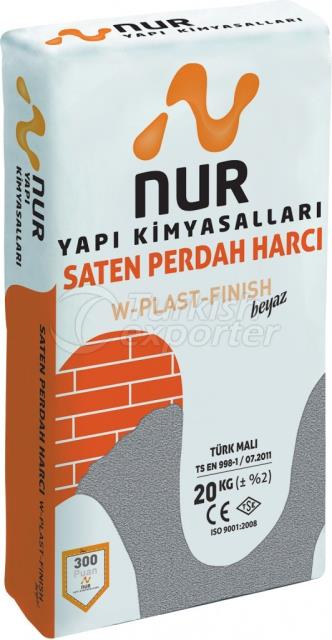 Satin Polishing Mortar W-PLAST-FINISH