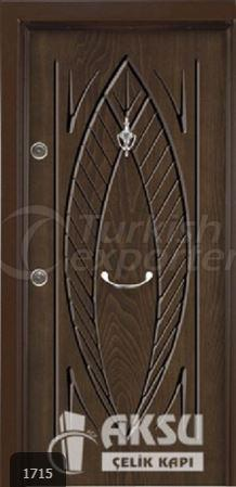 Rustic Panel Steel Door 1715
