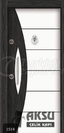 Double Color Laminox Steel Door 1514