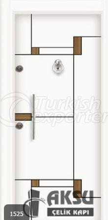 Double Color Laminax Steel Door 1525