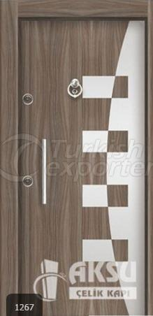 Luxury Laminate Steel Door 1267