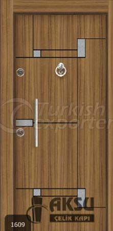 Chrome Laminox Steel Door 1609