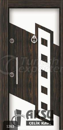 Luxury Laminate Steel Door 1263