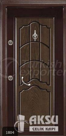 Classic Walnut Steel Door 1804