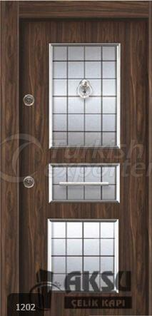 Laminate Relief Steel Door 1202