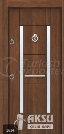 Chrome Laminox Steel Door 1614