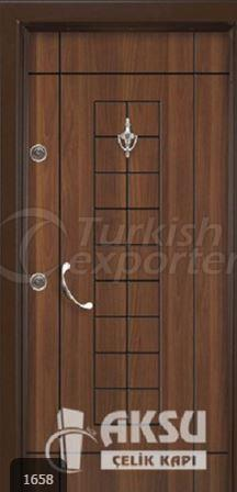 Rustic Laminox Steel Door 1658