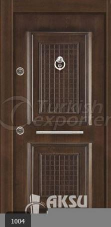 Luxury Relief Steel Door 1004