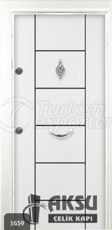 Rustic Laminox Steel Door 1659