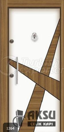 Luxury Laminate Steel Door 1264