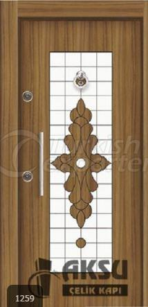 Luxury Laminate Steel Door 1259
