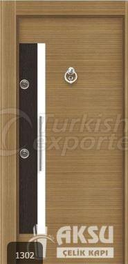 Luxury Alphi Steel Door 1302