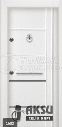 Chrome Laminox Steel Door 1603