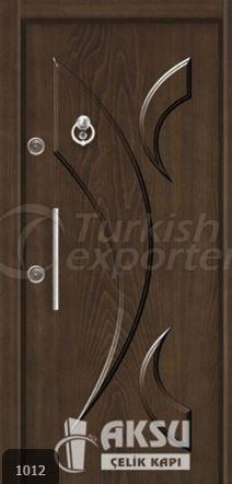 Luxury Relief Steel Door 1012