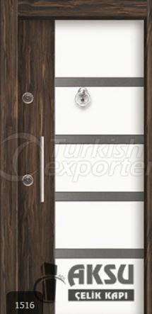 Double Color Laminox Steel Door 1516