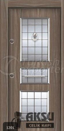 Laminate Relief Steel Door 1201