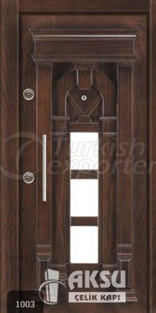 Luxury Relief Steel Door 1003