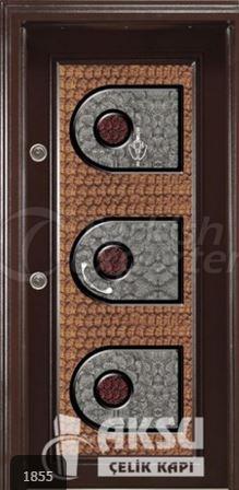 Classic Ponpon Steel Door 1855