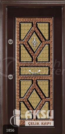 Classic Ponpon Steel Door 1856