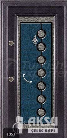 Classic Ponpon Steel Door 1853