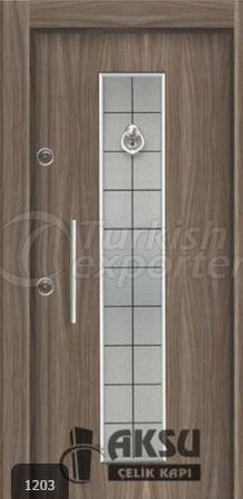 Laminate Relief Steel Door 1203