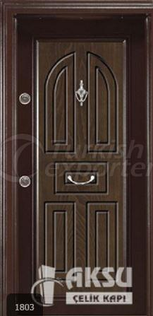 Classic Walnut Steel Door 1803