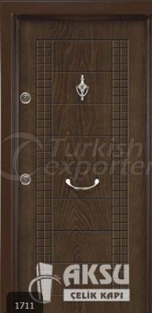 Rustic Panel Steel Door 1711