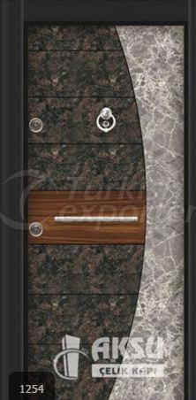 Luxury Laminate Steel Door 1254