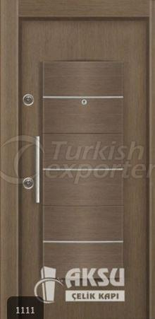 PVC Relief Steel Door 1111