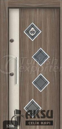 Laminate Relief Steel Door 1206