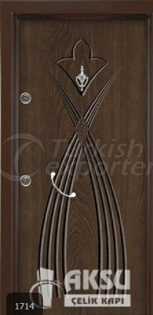 Rustic Panel Steel Door 1714
