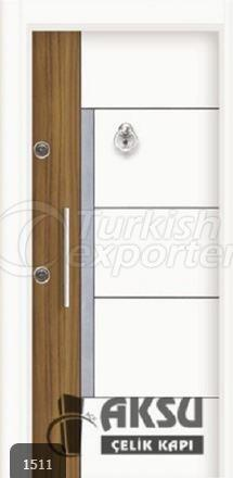 Double Color Laminax Steel Door 1511