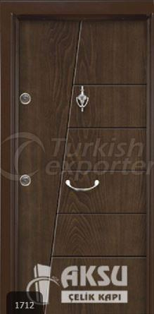 Rustic Panel Steel Door 1712