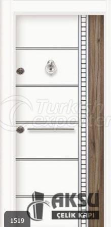 Double Color Laminox Steel Door 1519