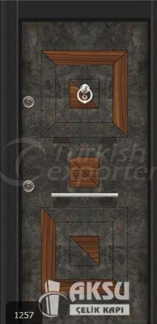 Luxury Laminate Steel Door 1257