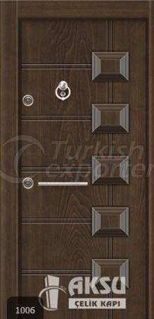 Luxury Relief Steel Door 1006