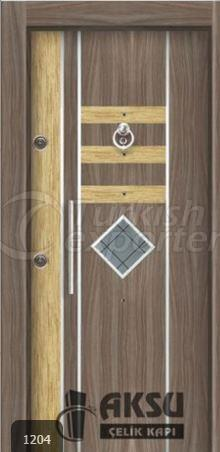 Laminate Relief Steel Door 1204